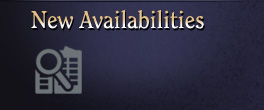 New Availabilities